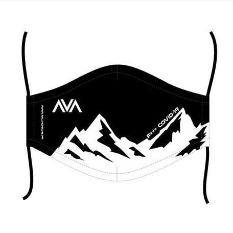 Masque lavable Avalanche Line Noir