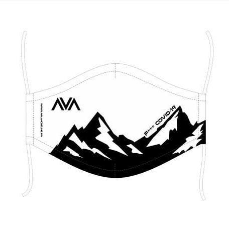 Masque lavable Avalanche Line Blanc