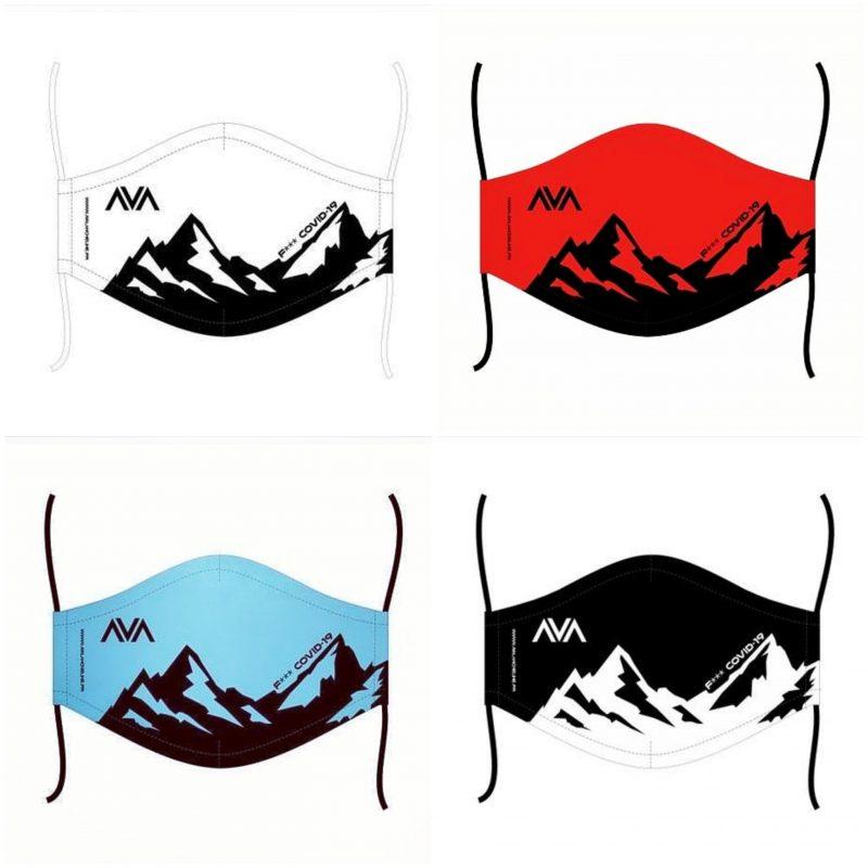 Masque lavable Avalanche Line 1